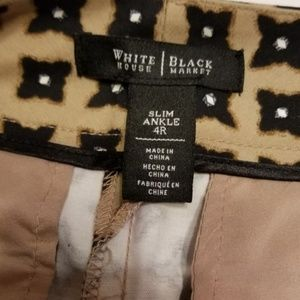 White House Black Market Pants - White House Black Market slim ankle pants 4